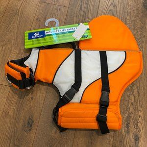 Top Paw NEMO Novelty Life Jacket For Dogs 55-85 lb